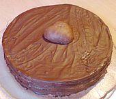 Oblaten-Torte (Pischinger - Torte)
