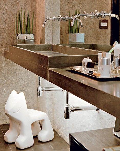 17 Best images about Banho on Pinterest  Madeira, Cuba and Nova -> Armario Para Banheiro Sao Jorge