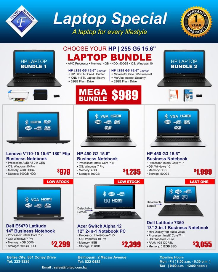Fultec Systems - Laptop Special