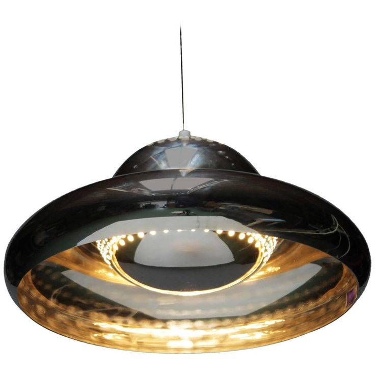 Chrome Fior di Loto Pendant by Afra and Tobia Scarpa 1