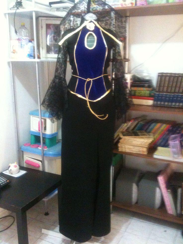 Vestido madrastra Blanca Nieves