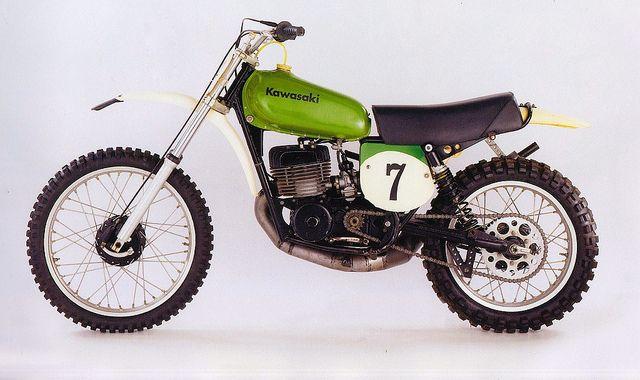 jimmy Weinert's works 1974 Kawasaki KX 450