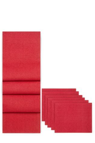 Buy 7 Piece Paper Weave Mat And Runner Set from the Next UK online shop