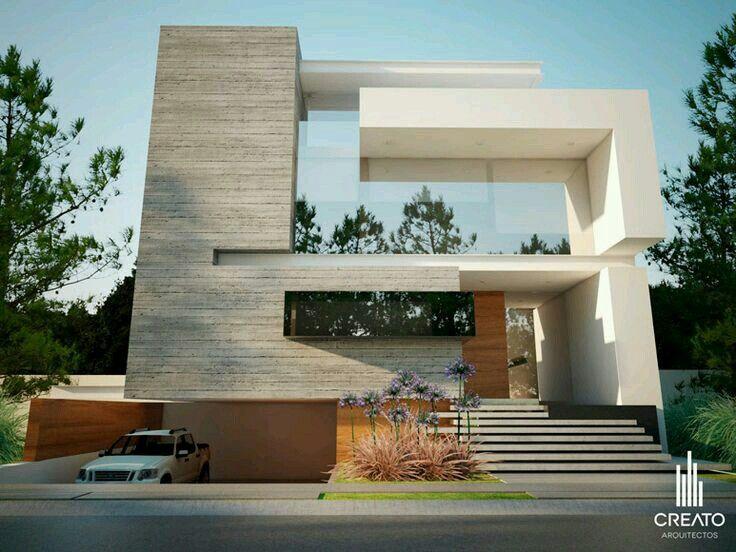 76 best images about creato on pinterest 3d rendering - Fachadas edificios modernos ...