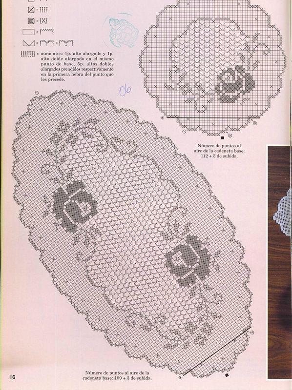szydełko / filet / serweta // Crochet | Voci nella categoria Crochet | Blog Tanya_Belyakova: LiveInternet - Russian Servizi online Diaries