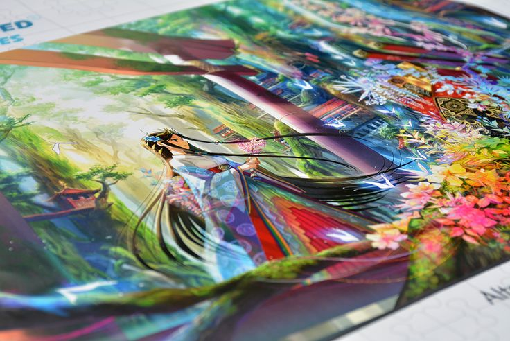 These enchanting anime-inspired masterpieces by Japanese illustrator Fuzichoco cast a reflection into a magical world full of color, light and mystery.