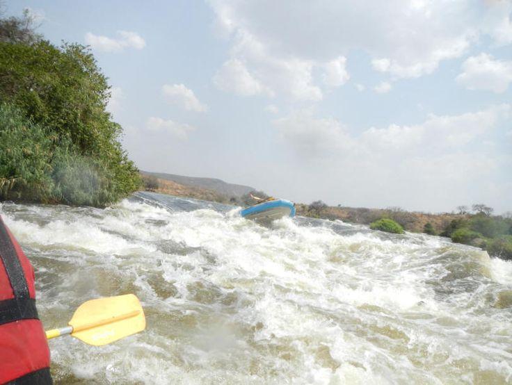 Sudan white water rafting