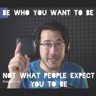 when he cries i cry hes my hero, hes why i laugh and be myself<3 #markiplierlove
