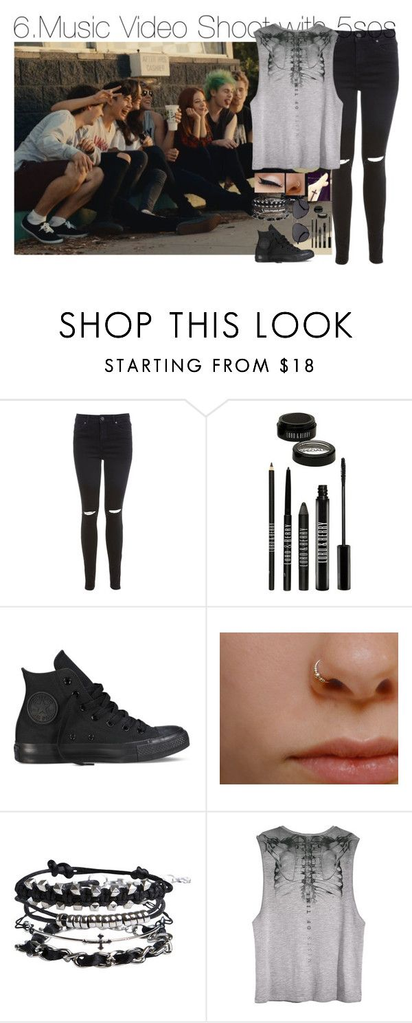"""100 Day Challenge 5sos edition (Day 6)"" by heathersstyle17 ❤ liked on Polyvore featuring Miss Selfridge, Lord & Berry, Converse, Pieces and The Row"
