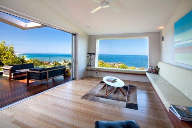 Modern beach #dreamhouseoftheday in Australia: Big Doors, Bays Beaches, Coolum Bays, Rooms Ideas, Aboda Design, Beaches Houses, Group Photos, Design Group, Houses Design