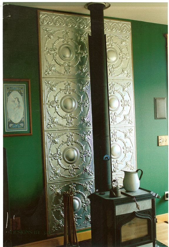 Tin Fireplace Surround Best 25+ Wood Stove Wall Ideas On Pinterest | Entry Wall