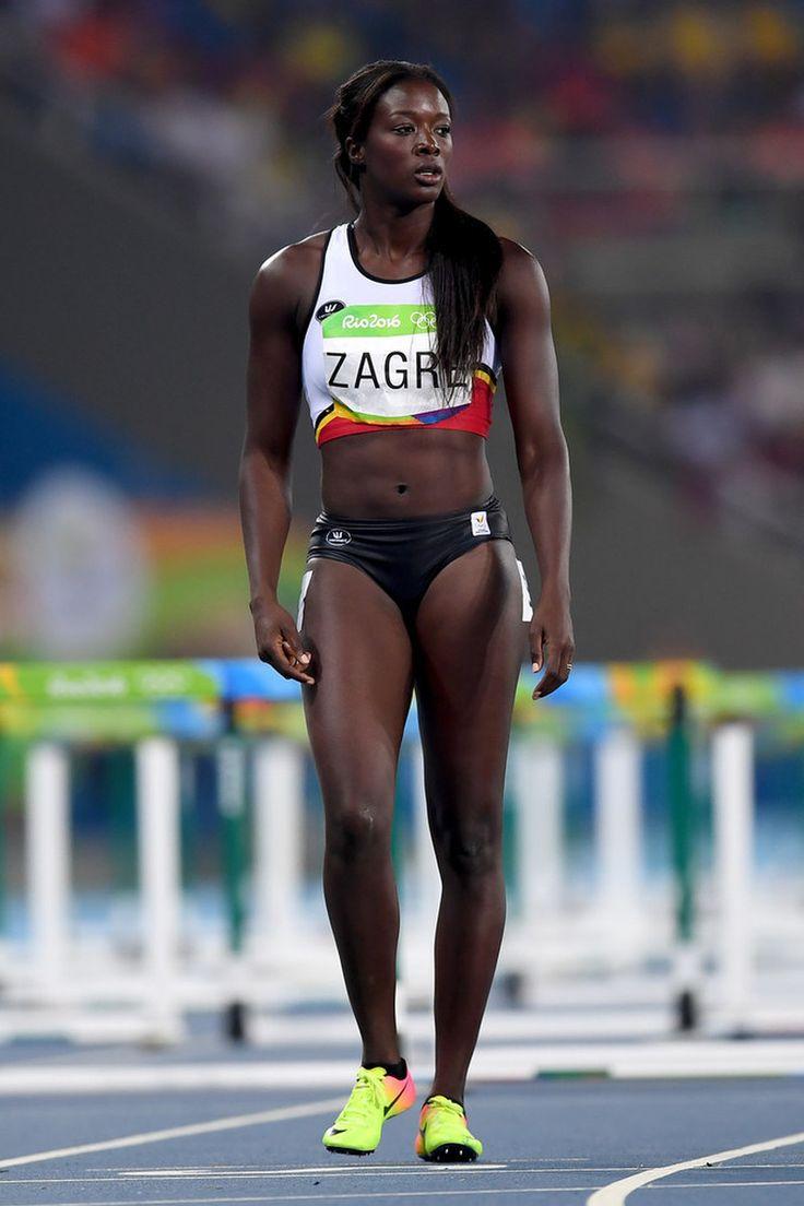 Anne Zagré (Belgium)  Rio 2016 Olympics