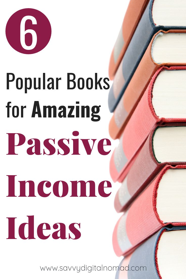 6 Popular Books For Absolutely Amazing Passive Income Ideas