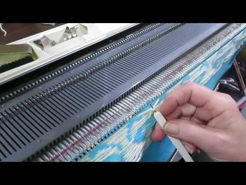 Carole Wurst's Quick Tips for Machine Knitters: Stabilizing Fairisle Floats - YouTube