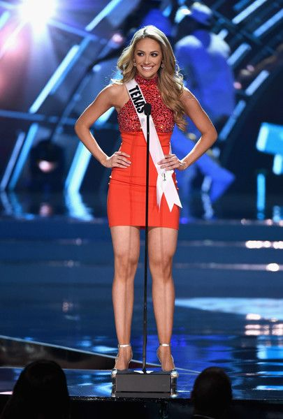 Miss Texas, Daniella Rodriguez - Every Beautiful Contestant From the 2016 Miss USA Competition - Photos
