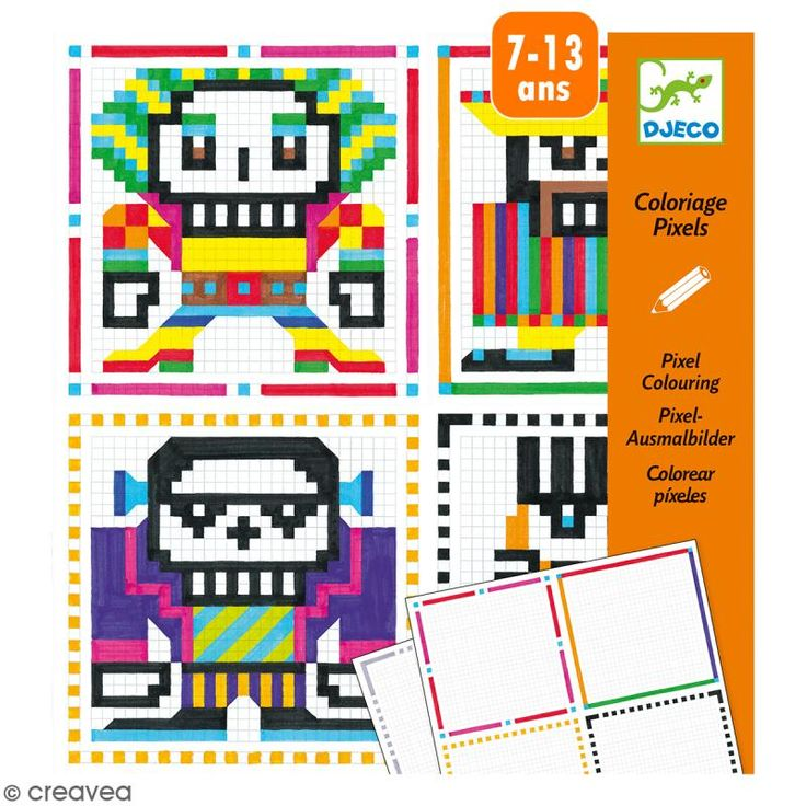 Compra nuestros productos a precios mini Colorear píxeles Skull boys - 20 creaciones - Entrega rápida, gratuita a partir de 89 € !