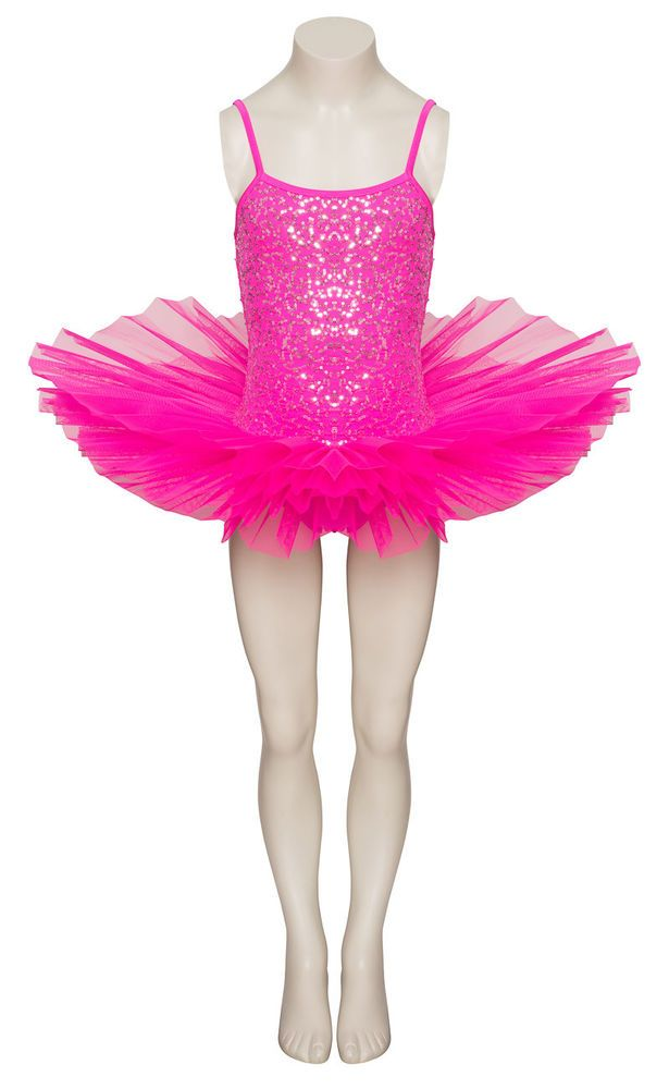 f223f40a9 eBay #Sponsored Hot Pink Sparkly Tutu With Silver Sequins Dance Ballet  Costume Tutu By Katz