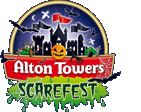 Alton Towers Scarefest (19th Oct-3rd of Nov. 2013) http://www.altontowers.com/scarefest/halloween-days-out/#ScarefestTickets