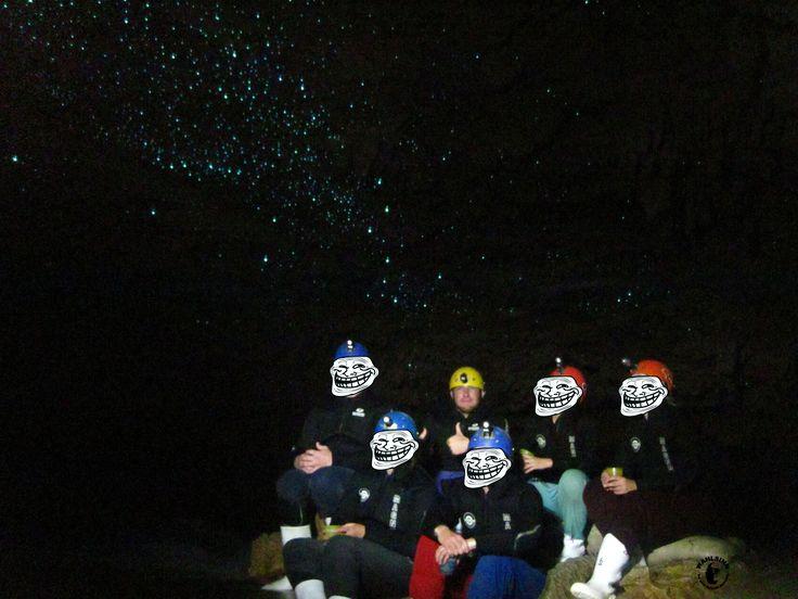 Kiwi Cave Adventures - Sternenhimmel unter der Erde - Glühwürmchen sei dank