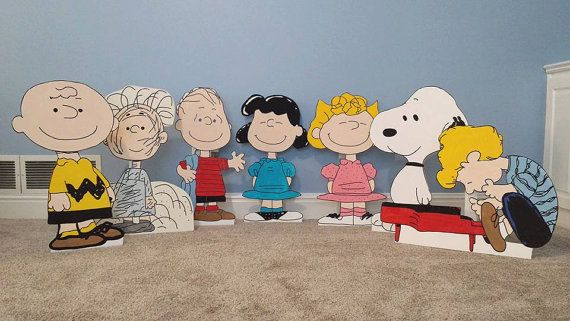 1 ONE 2ft Charlie Brown cutout/standee/prop. by supercutecutouts