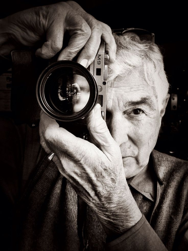Автопортрет фотографа фото