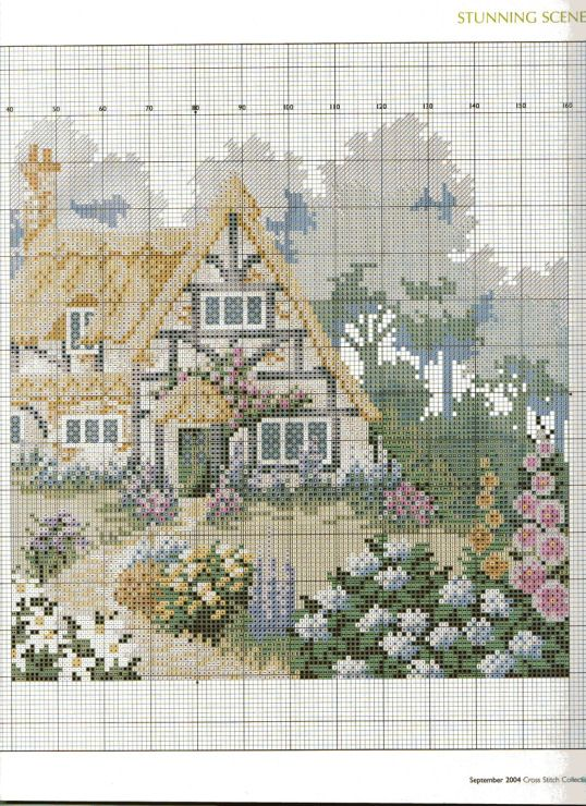 Gallery.ru / Фото #7 - Cross Stitch Collection 108 сентябрь 2004 - tymannost