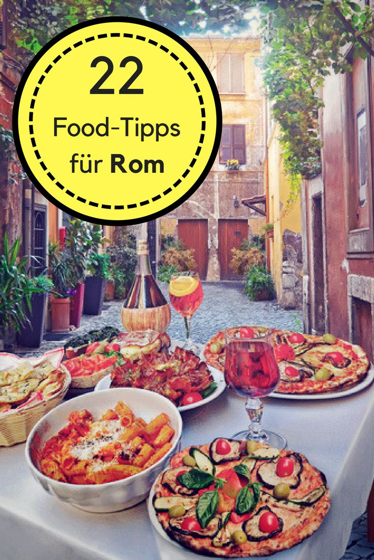 Wo in Rom essen? Rom Food Guide (Pizza, Pasta, Eis