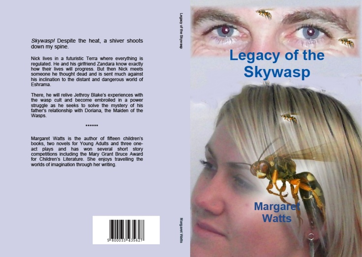 Legacy of the Skywasp... one of my favourite books, and covers.
