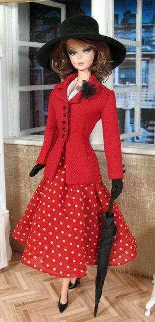Barbie dresses better than I do!