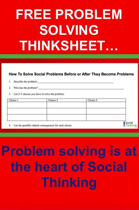 37 Best Free Thinksheets Worksheets Images On Pinterest
