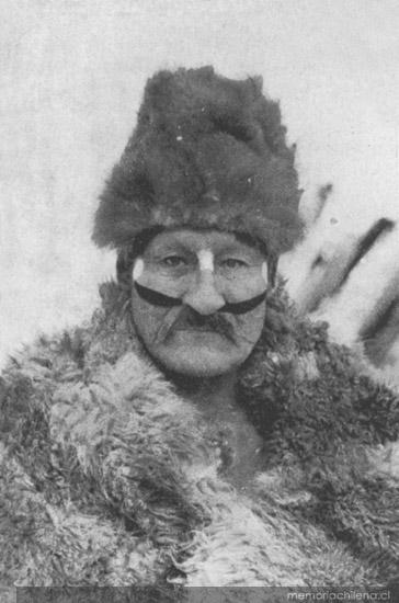 Selknam medicine man 1920