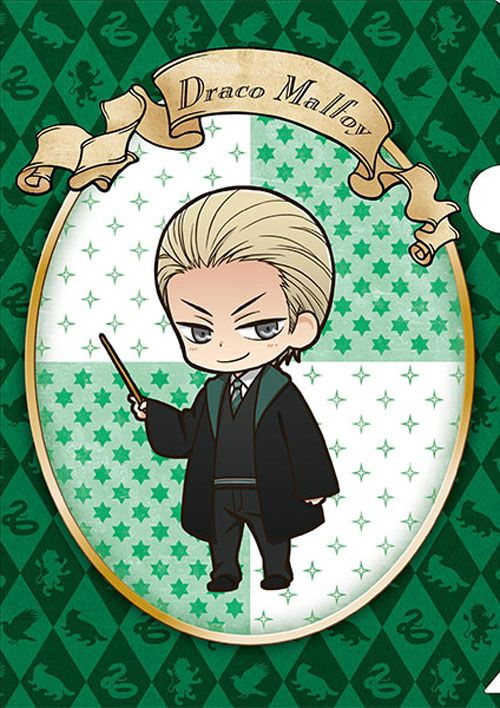 Official anime-style Harry Potter merchandise: Draco Malfoy