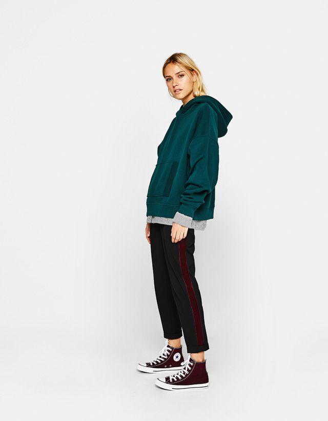 Trousers - CLOTHING - WOMAN - Bershka United Arab Emirates