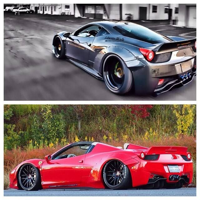 Gray Or Red? #ferrari #bagged #rolling Http://buff.ly