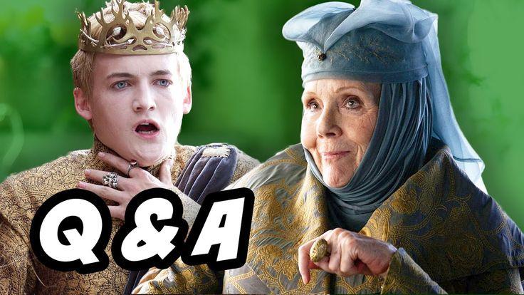 Game Of Thrones Season 6 Q&A - Knight of Flowers: Loras Tyrell Changes, Jon Snow theories, Daenerys Targaryen Dragons vs White Walkers and Stannis Baratheon