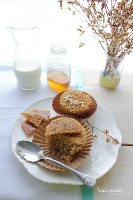 Chokolat : Muffins de avena y amaranto. Amaranth muffins