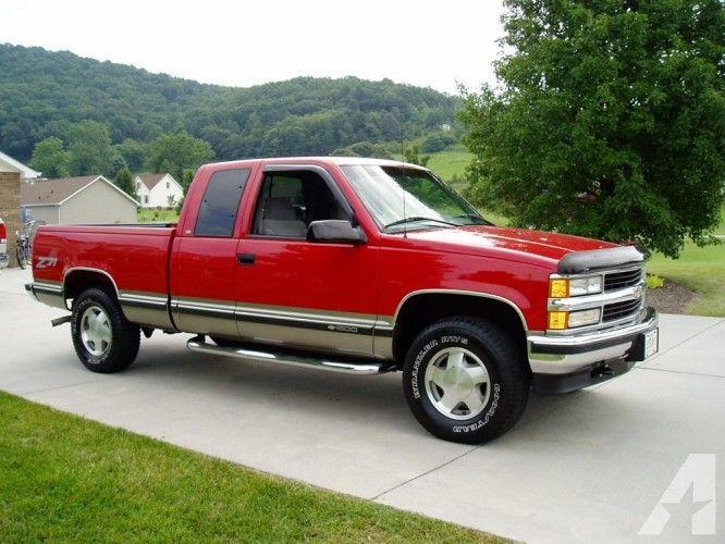 1998 Red Chevy Silverado 1998 Chevy Silverado 1500 Z71