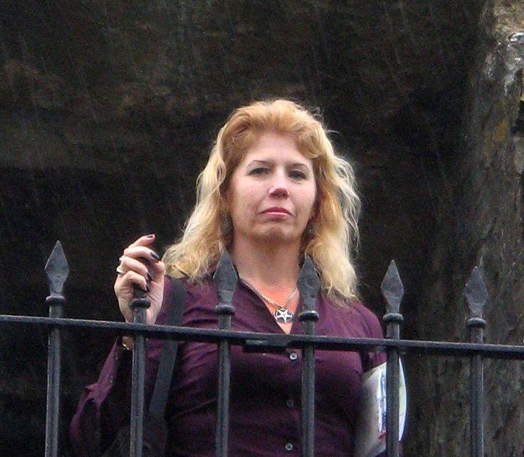 Blanche Barton, leader of Satanic Feminsm