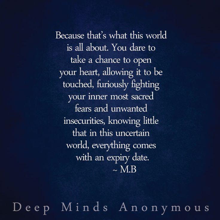 Deep Minds AnonymousM.B Mindfulness, Inspirational