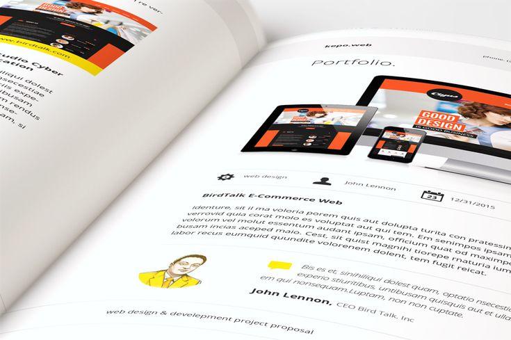 Web Design Proposal by broluthfi  on Creative Market