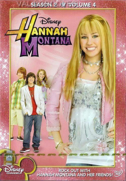 HANNAH MONTANA Season 2 Vol.4 [7 Episodes] [DVD] Miley Cyrus, Disney Family