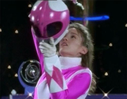 When you show up slightly late to work: | A Day In Your Life, As Told By The Pink Power Ranger