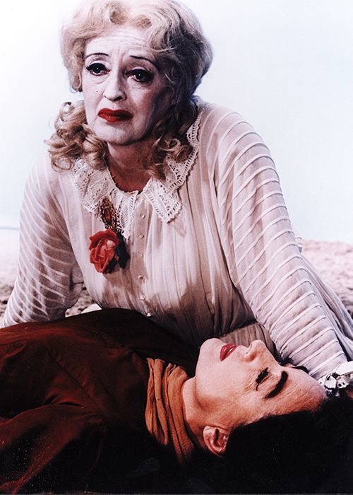 """Butcha are Blanche, ya are!"" - Davis vs Crawford in Whatever Happened to Baby Jane. Camp cult classic."
