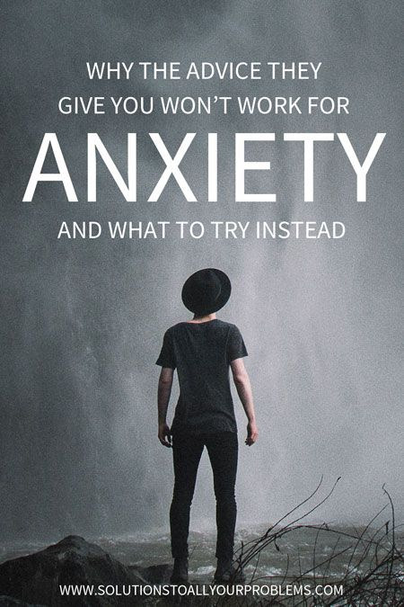 Looking for anxiety relief? Why the remedies many people suggest won't work and what to try instead for overcoming anxiety symptoms.