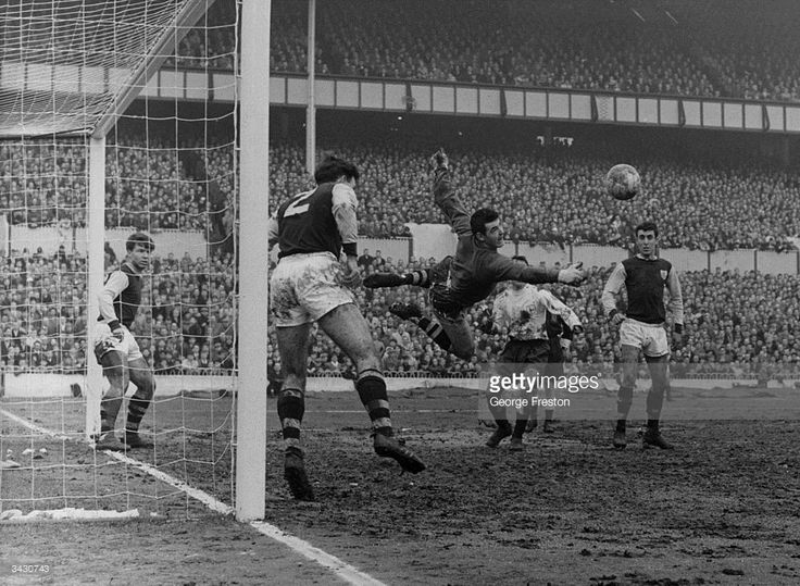 Adam Blacklaw, the Scotland and Burnley goalkeeper makes a save during a game against Tottenham Hotspur at White Hart Lane, London.