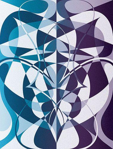 Matt W Moore - Rorschach Series # 3 : First Glance.   MWM Graphics