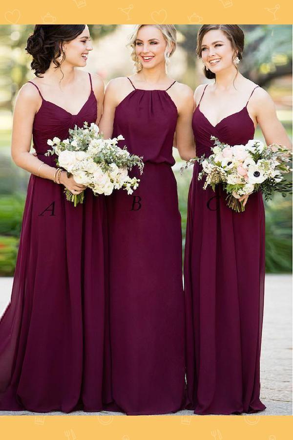 Beautiful Burgundy Bridesmaid Dresses Bridesmaid Dresses For Cheap 2019 Bridesmaid Burgundy Bridesmaid Dresses Wine Bridesmaid Dresses Blush Bridesmaid Dresses