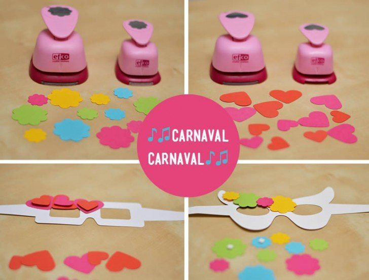 Cómo hacer antifaces para niños de carnaval