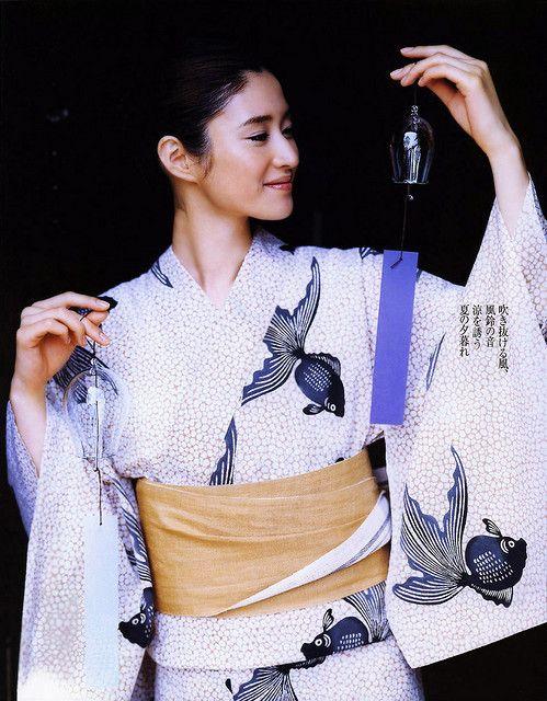 YUKATA 小雪 Koyuki -summer kimono