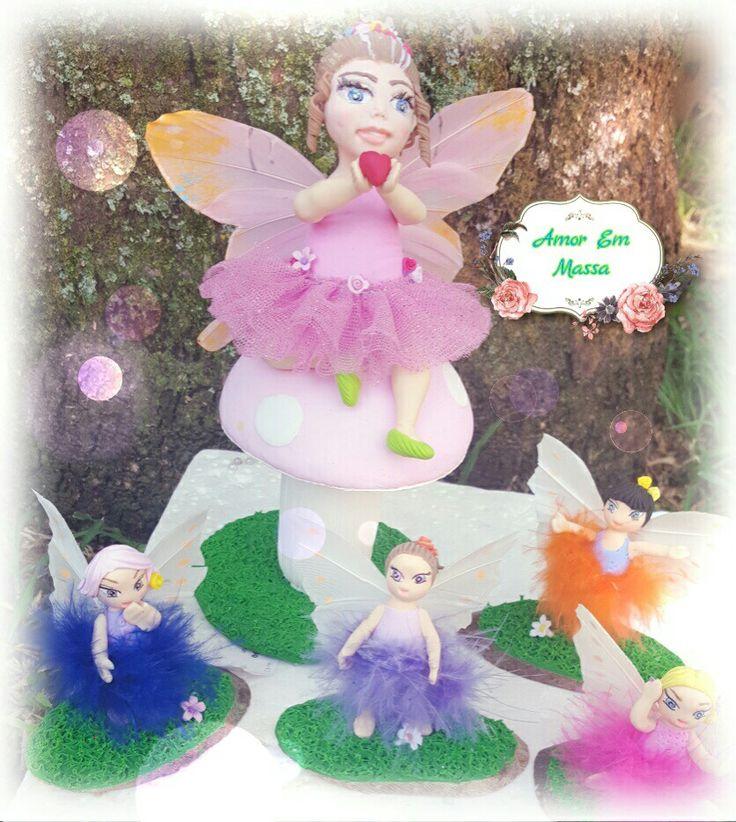 Fairies hand made #coldporcelain#fairies#fantasy#